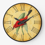 Vintage Red Bird Orante and Elegant Kitchen