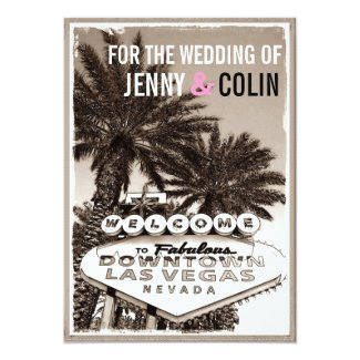 Photo 1 Of 5 Catchy Las Vegas Wedding Invitations For Additional Beauteous Invitation Modification Ideas 20820161 Superb