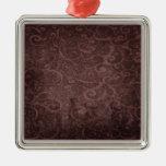 Vintage Victorian Grunge - Chocolate Swirls ornaments