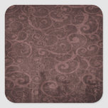Vintage Victorian Grunge - Chocolate Swirls stickers