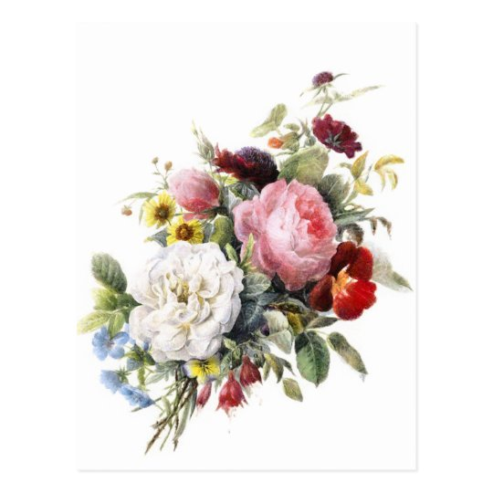 Vintage Victorian Roses And Other Beautiful Flower