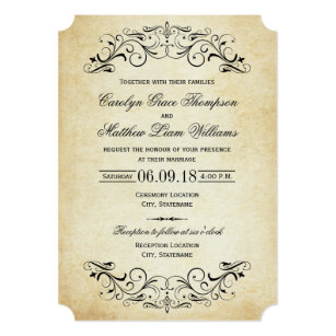 Undangan Pernikahan Vintage 3