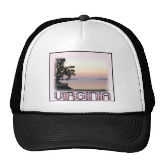 Virginia - River View Trucker Hats