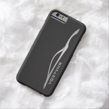 """""""VQ37VHR"""" Infiniti G37 Silver Silhouette Barely There iPhone 6 Case"""
