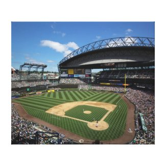 WA, Seattle, Safeco Field, Mariners baseball Canvas Print