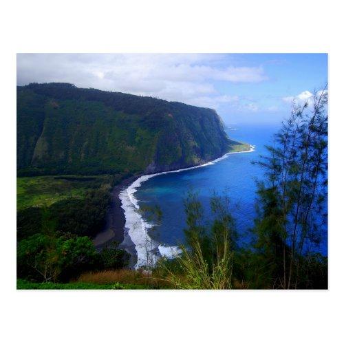 Waipio Valley Lookout Postcard