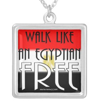 Walk Like An Egyptian: Free - Necklace necklace