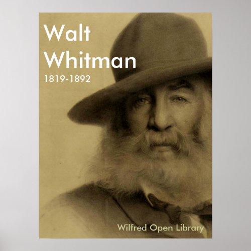 Walt Whitman Print