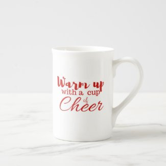 Warm up with a cup of Cheer mug
