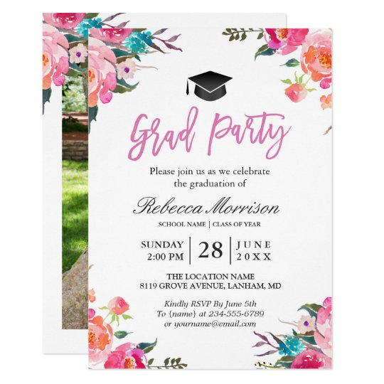 Invitation Cards For Graduation Party