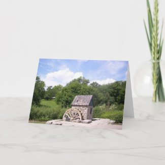 Watermill Card card