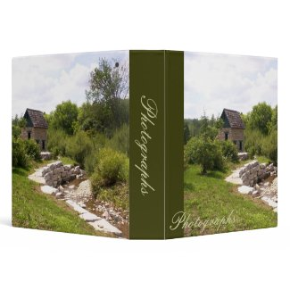 Watermill Photo Binder binder