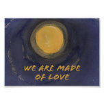 We are made of Love Sumi Moon print