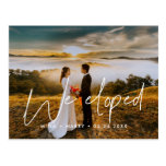 We eloped Modern design photo Postcard