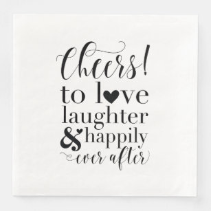 Download Happily Ever After Paper & Party Napkins | Zazzle