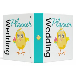 Wedding Chick Planner Binder v2 binder
