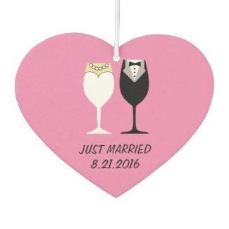 Wedding Couple Wineglasses