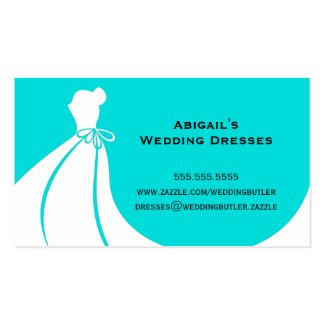 Wedding Dresses Business Card