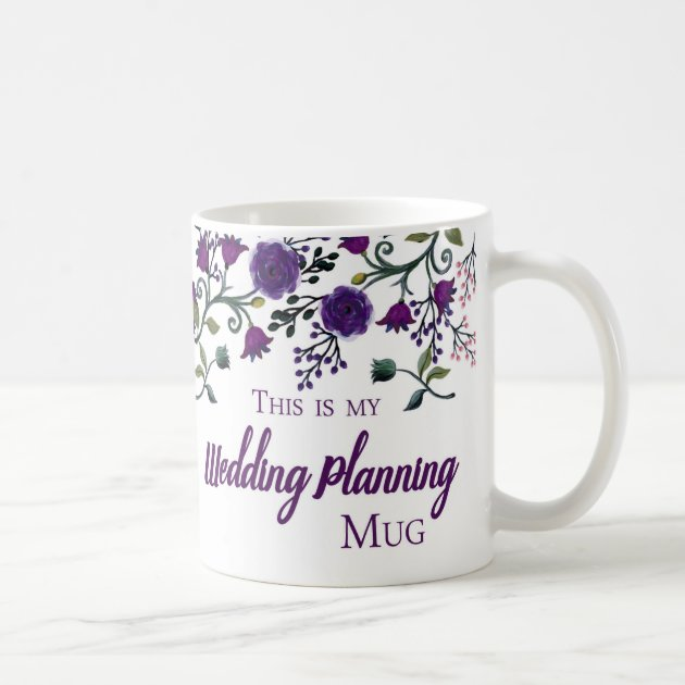 Wedding Planning Mug, Wedding Planner Gift Mug