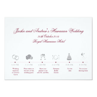 Wedding Invitations With Response Cards Attached