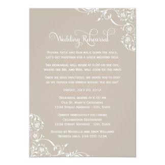 Grand Lace Wedding Invitations
