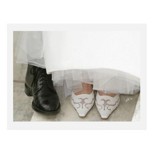 Wedding Shoes jjhélène Postcard