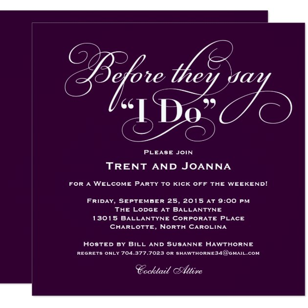 Create My Own Party Invitations