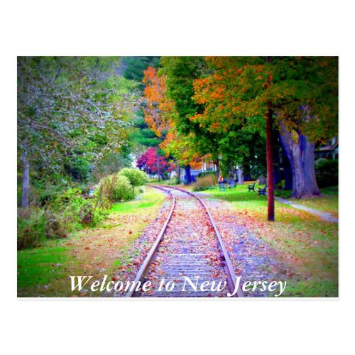 Welcome to New Jersey Postcard