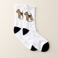 Welsh Terrier Socks