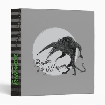 Wererat: Beware of the Full Moon 3 Ring Binder