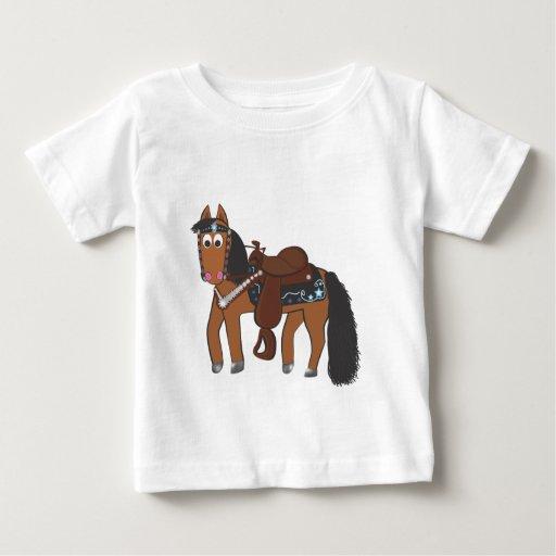 Western Riki Horse Baby T-Shirt