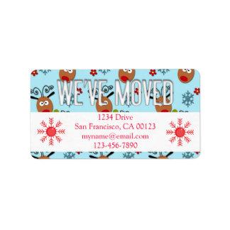 Christmas Moving Cards Christmas Moving Card Templates