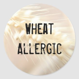 Wheat Allergic Sticker