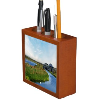 Where the River Ends Pencil/Pen Holder