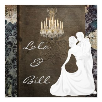 WHIMSICAL Fairytale Wedding  Invitation AUTHENTIC