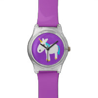 whimsical unicorn watch