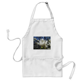 White Magnolia in North Carolina Apron