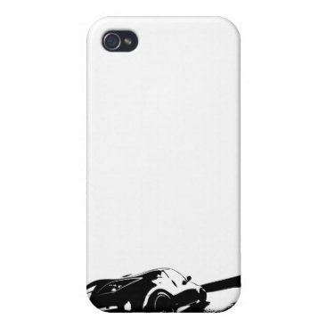 White Nissan 350z iPhone 4/4S Case