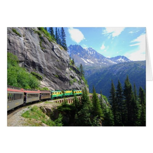 White Pass & Yukon Route Railway Card card