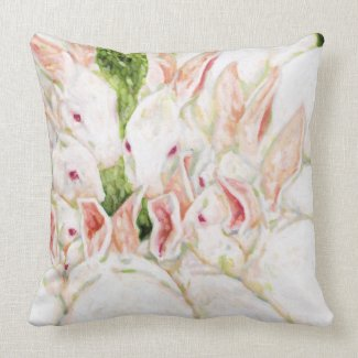 White Rabbit Pillow mojo_throwpillow