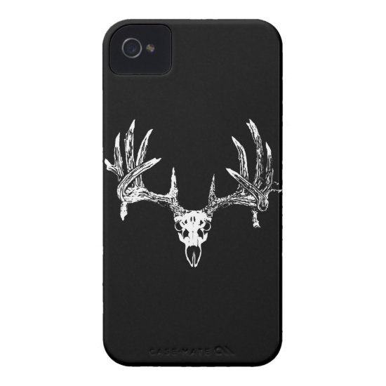 Whitetail deer skull w iPhone 4 Case-Mate case