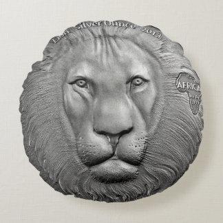 Wall Charmers Mounted Resin Lion Head Gold Metallic Mini
