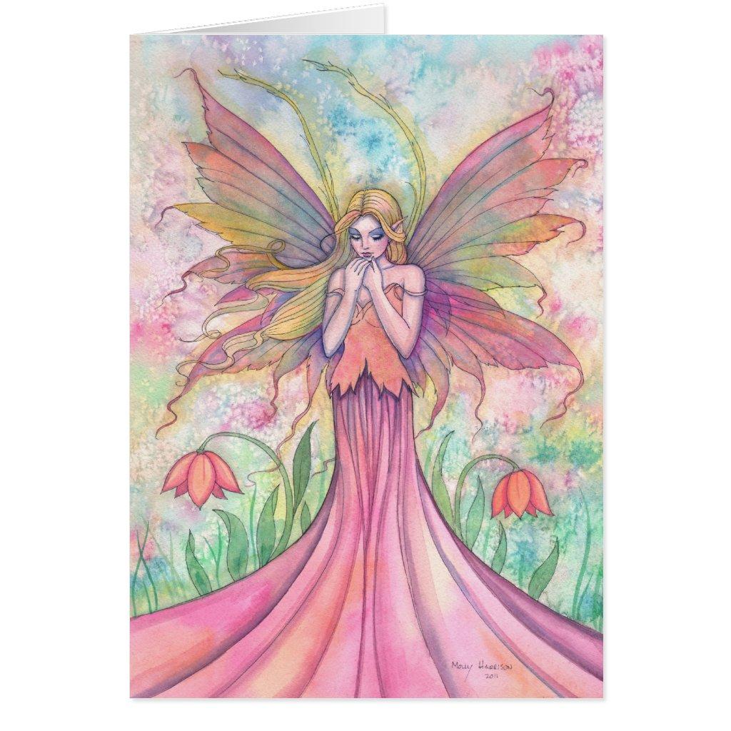 Wildflower Fairy Card