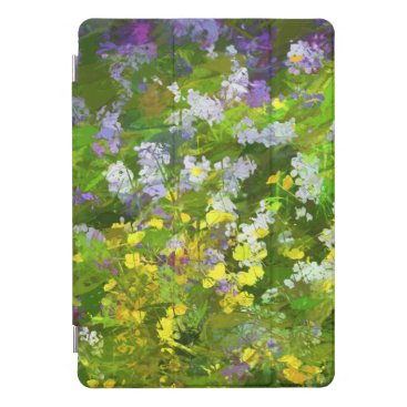 Wildflowers Impasto Painting - Original Flower Art iPad Pro Cover