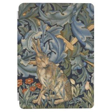 William Morris Forest Rabbit Floral Art Nouveau iPad Air Cover