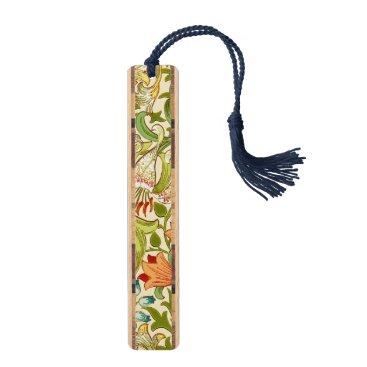 William Morris Golden Lily Vintage Pre-Raphaelite Bookmark
