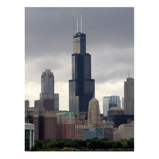 Willis Tower Chicago Illinois Postcard