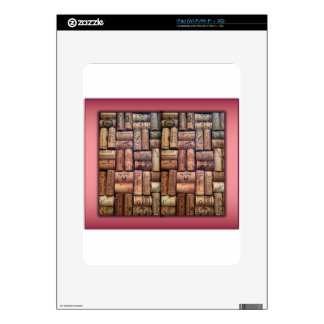 Wine Corks Collage iPad Decal