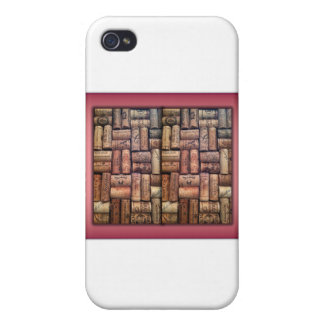 Wine Corks Collage iPhone 4 Cases