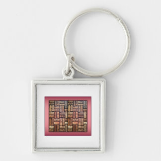 Wine Corks Collage Key Chains